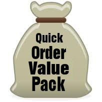 Save an extra 10 percent by ordering our Quick Value Pack Bags today